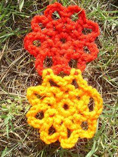 FREE-Flower crochet Pattern