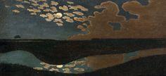 Clair de Lune (Moonlight), by Félix Vallotton, 1894   RMN-Grand Palais (Musée d'Orsay) ©