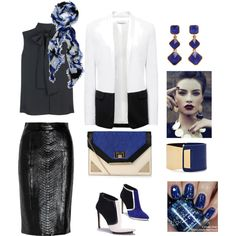 """""""work outfit"""" by ntina36 on Polyvore"""