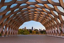 Nature's boardwalk and pavilion in Chicago -  Studio Gang Architects