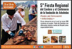 5ª Fiesta Regional del Cordero y Centenario de la Fundación de Arboledas en Daireaux