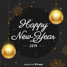 light angil happy new year 2019