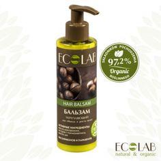 Ecolab Balsam wzmacniający objętość i przyspieszenie wzrostu włosów Soap, Perfume, Organic, Hair, Beauty, Witch Hazel, Beauty Illustration, Bar Soap, Fragrance