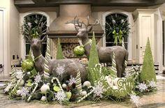 Cocinas navidad y decoración en 50 ideas creativas únicas.