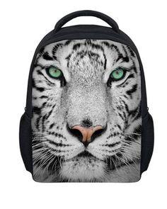 Fashion 12 inch Husky Backpack for Boys Kindergarten Boogbag Small 3D  Animal Printing Kids Backpack Sac a Dos Mochila Infantil a1a91d20dd296