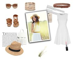 """""""spring feeling"""" by shopoholic0708 ❤ liked on Polyvore featuring Accessorize, Casetify, STELLA McCARTNEY, Lucky Brand, Breckelle's, True Decadence, Mansur Gavriel, MAC Cosmetics, Gottex and Balmain"""
