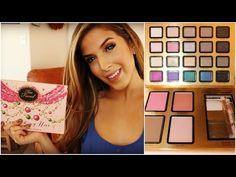 Review: Too Faced Holiday 2014 Everything Nice Palette (plus swatches) - YouTube