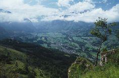 Le vallon Accous et Bedous - Vallée d'Aspe, Pyrénées Atlantique