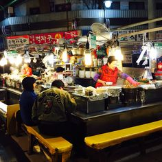 Seoul Korea late night food market. Late Night Food, Seoul Korea, The World's Greatest, Fried Chicken, Barbecue, City, Hong Kong, Photography, Photograph