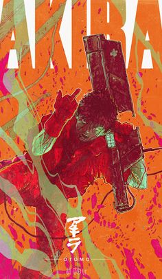 Cool Art: 'Kaneda' by Ash Thorp