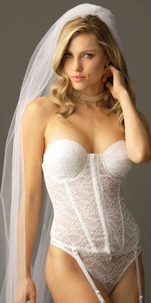 be71de29090 La Belle Femme Bridal Bustier by Va Bien  68.95  lace bustier  wedding  bustier