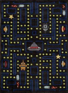 "Momeni Rugs Lil Mo Whimsy LMJ14 Arcade Black 5'-0"" x 5'-0"" Round Area Rugs Momeni Rugs http://www.amazon.com/dp/B00DDVFPPI/ref=cm_sw_r_pi_dp_y6Evub1RF1QBY"