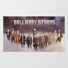 Gallifrey Stands Area & Throw Rug