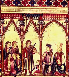 Medieval troubadours - traveling poets/singers/musicians who went about…