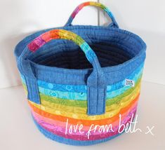 Rainbow Basket | Cra