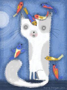 Popularity Illustration Friday--Terry Runyan