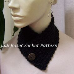 Crochet Patterns Two Unisex  Neck Warmers by JadeRoseCrochet, $3.00
