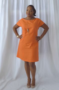 Hello seamstresses! I have some fabulous new photographs of the Essential Denim Dress, Sew Different's most popular paper pattern. This gorgeous orange version is made by the very talented Mollie Moxie who is one of several fabulous sewists who test run patterns for Sew Different. I love her sense of style and her choice of fabrics.  When I sent…