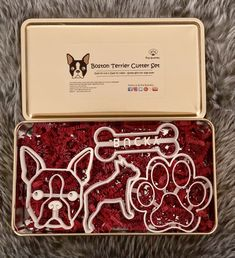 Boston Terrier Cutter Set