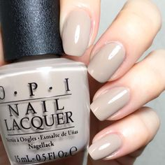 The 6 Best Nail Polish Colors for Fall Opi Nail Colors, Gel Polish Colors, Best Nail Polish, Nail Polish Art, Nail Polishes, Get Nails, How To Do Nails, Nagellack Design, Gloss Matte