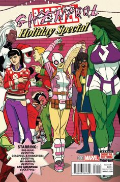 *High Grade* (W/A) Various (CA) Kris Anka • AN ALL-NEW, ALL-DIFFERENT MARVEL HOLIDAY SPECIAL! • She-Hulk throws a holiday party and invites the entire Marvel U! • Deadpool teams up with both Hawkeyes