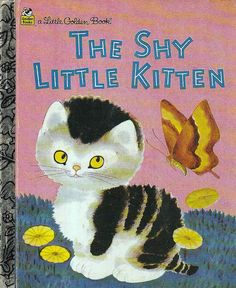 little Golden Book-The Shy Kitten