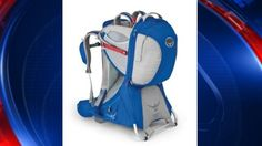 A fall hazard has prompted Osprey to recall of more than 87,000 child backpack carriers.