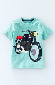 Mini Boden 'Vehicle' Appliqué T-Shirt (Toddler Boys, Little Boys & Big Boys) available at #Nordstrom