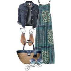 Stylish Eve 2013   Stylish Eve Outfits 2013: Summer Maxi Dress ...   Spring and Summer F ...