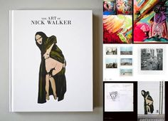 A 152 page hardback retrospective with hundreds of full color images comprising 20 years of 'The Art Of Nick Walker'. An essential book for all fans.