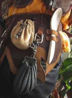 LARP Leather belt by RoastedMoth on DeviantArt can find Larp and more on our website.LARP Leather belt by RoastedMoth on DeviantArt Larp, Conquest Of Mythodea, Renaissance Fair, Medieval Fair, Medieval Clothing, Leather Projects, Character Outfits, Leather Working, Costume Design