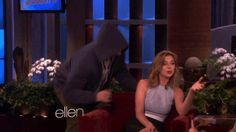 When Emily Vancamp almost needed her own doctor. | 26 Times Ellen DeGeneres Scared The Crap Out Of Famous People