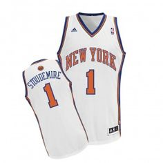 adidas Youth Knicks Stoudemire Revolution 30 Swingman Home Jersey Adidas b089f4b33