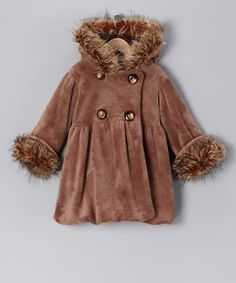 Coco Faux Fur Mary-Jayne Bubble Coat - Infant, Toddler & Girls by Corky's Kids on #zulily today!