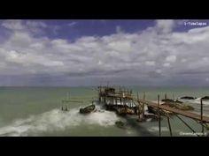 Trabocchi, la macchine da pesca i-Timelapse - YouTube
