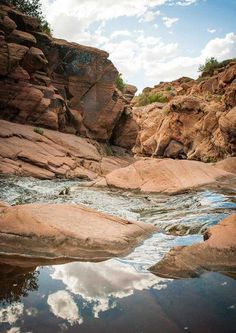 This Canyon Creek Utah Nature Photography features a beautiful creek coming down towards Moab from the La Sal mountains, via a beautiful canyon. Mostly known to locals this great little area is perfec