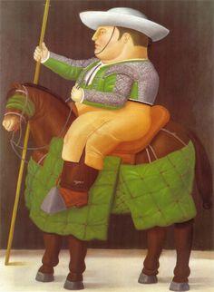 Fernando Botero. El renombrado pintor colombiano Fernando Botero ha hecho más de 140 pinturas y 35 dibujos a lo largo de su carrera sobre una de sus pasiones: los toros.