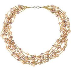 "#68394, #Freshwater #Cultured Multi-colored #Pearl 18"" #Necklace, Nathalie's Jeweler"