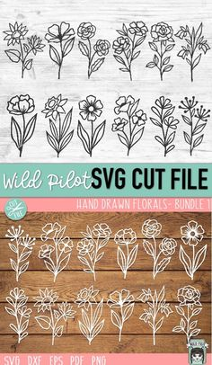 Flower On Head, Flower Frame, Cricut Tutorials, Cricut Ideas, Vinyl Projects, Vinyl Crafts, Flower Svg, Cutting Files, Die Cutting
