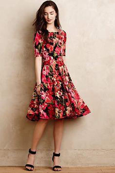 Photostat Floral Dress - anthropologie.com #anthrofave #anthropologie