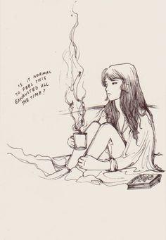 A arte depressiva de Jenny Yu