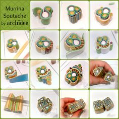 POLYMER CLAY | MURRINA SOUTACHE | MOBIUS BEADS | PILLOW BEADS