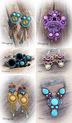 Panita pearl jewelry: By popular demand! :)  Gorgeous soutache work!