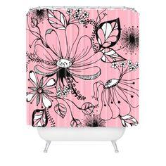 DENY Designs Rebekah Ginda Design Wildflowers Shower Curtain, 69-Inch by 72-Inch DENY Designs http://www.amazon.com/dp/B008AJKSIC/ref=cm_sw_r_pi_dp_-pawub00EWTH5