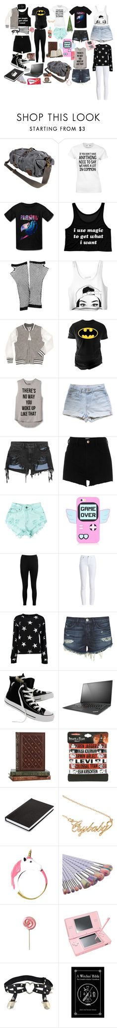 """7-Day Trip Challenge! RTD"" by darkwolf180 ❤ liked on Polyvore featuring VIPARO, Forever 21, NY&Lon MonnaLisa, Changes, INC International Concepts, Alexander Wang, River Island, Levi's, Boohoo and Barbour"