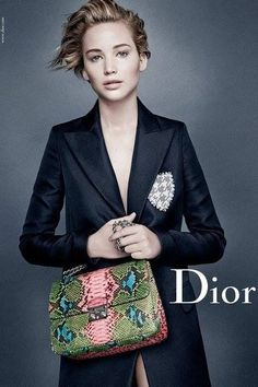 JENNIFER LAWRENCE unveiled her second Dior campaign this week, photographed  by Patrick Demarchelier. The advert shows the American Hustle star with her  new ... 141dfff820a