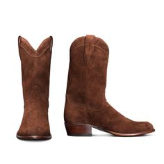 Tecovas' men's boot collection features classic cowboy, western roper, square toe, and zip-up boots that are handcrafted from the finest calfskin and exotic leathers. Mens Suede Cowboy Boots, Western Boots For Men, Suede Boots, Suede Leather, Leather Boots, Western Wear, Ankle Boots, Fashion Boots, Mens Fashion