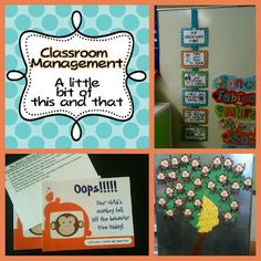 Classroom management from A Differentiated Kindergarten.