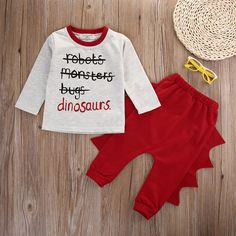 6da659262e3 Infant Newborn Baby Boy Girl Clothes Top T shirt+Pant 2pcs Outfits-in  Clothing Sets from Mother   Kids on Aliexpress.com