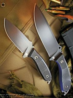 TACTICAL KNIVES September ONLINE EXCLUSIVE: READ FULL ARTICLE: DPx HEFT KNIVES: Designed with the SEALs in mind — on the cutting edge for The World's Most Dangerous Places!
